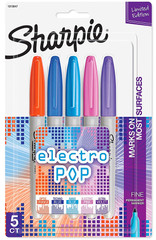 Sharpie Electro Pop Markers 5-Pack