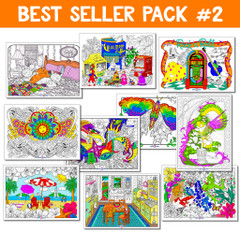 Line Art Best Sellers Bundle #2 - 10 Pack