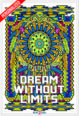 Personalized - Dream Catcher - Giant Coloring Poster