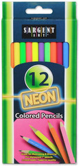 Sargent Art Neon 12 Pack of Color Pencils