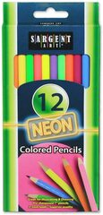 Sargent Art Neon 12 Pack of Color Pencils