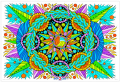 Swift  - Giant Mandala Coloring Poster