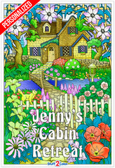 Personalized - Hidden Cottage (Giant Sized)