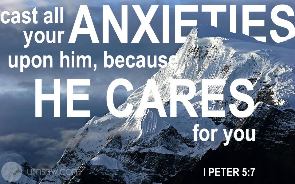 I Peter 5:7