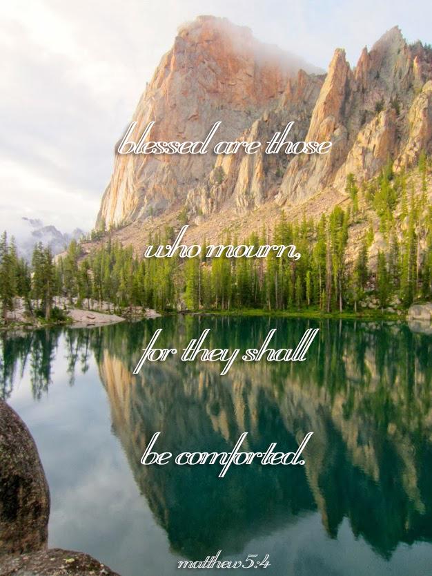 Matthew 5:4,
