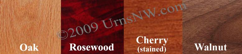 Wood Companion Urn Options