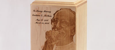 Urn Customization: Photo Urns