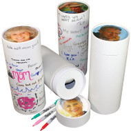 Love Notes Personalized Scattering Urn Tube