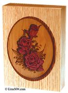 Rose Bouquet Dimensional Keepsake Urn