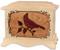 Cardinal Cremation Urn - Maple Wood