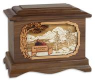 My Soulmate Wood Cremation Urn in Walnut