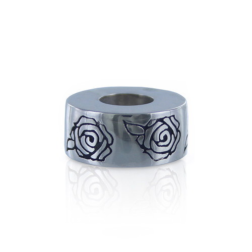 Roses Cremation Bead Memorial Jewelry