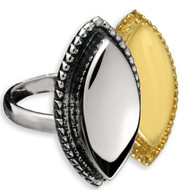 Oval Cremation Ring Memorial Jewelry