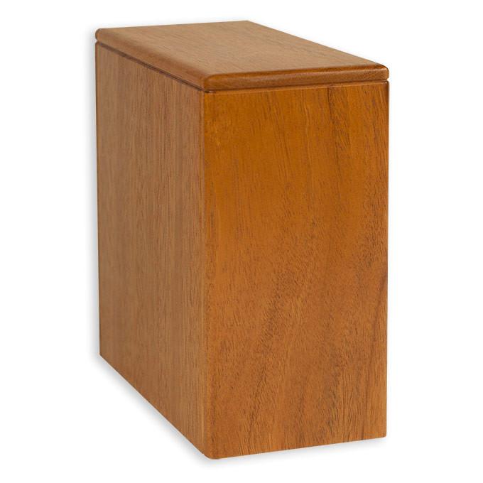 Premium Wood Cremation Urns Designed for Niche - Fits Arlington Cemetery