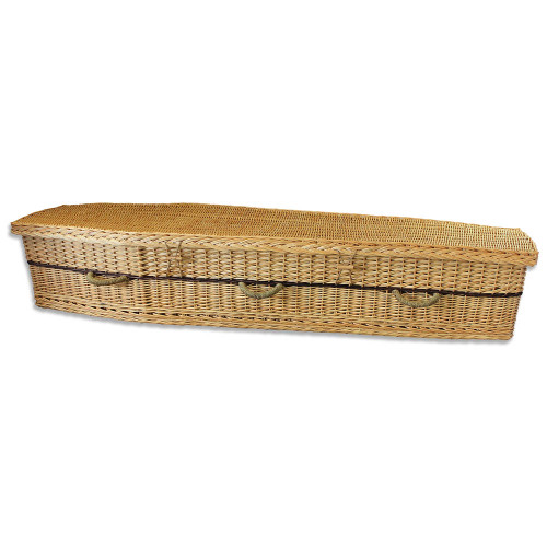 Six Point Willow Coffin for a Natural, Sustainable Burial