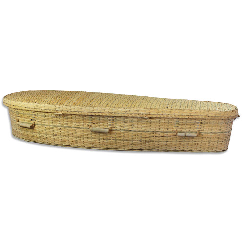 Biodegradable Woven Bamboo Casket
