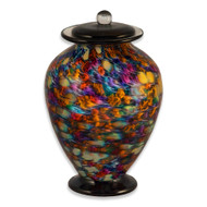 Amato Desert Hand Blown Glass Cremation Urn