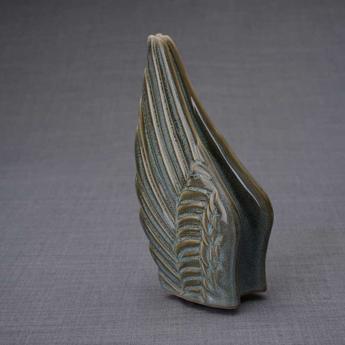 Angel Wings Sculpture Ceramic Cremation Urn