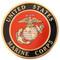 Marine - Cremation Urn Medallion