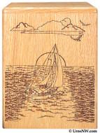 Sailing Cremation Urn