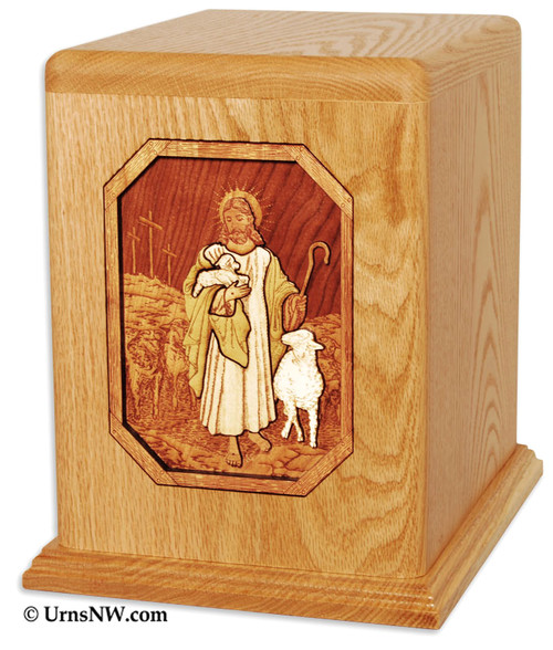 The Lord is My Shepherd Cremation Urn