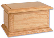 Boston II Cremation Urn - Oak