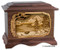 Mountain Lakes Urn - Walnut wood