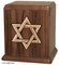 Star of David Cremation Urn