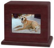 Photo Display Pet Urn - Horizontal