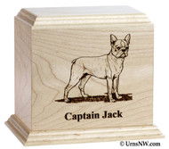 Legacy Breed Line Pet Urn - Maple