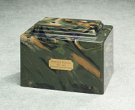 Camouflage Urn for Ashes
