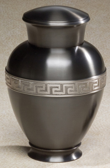 Metal Cremation Urn - Zeus Urn for Ashes