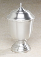 Pewter Cremation Urn - Astor Metal Urn