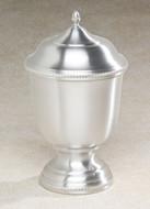 Pewter Cremation Urn - Astor Metal Urn