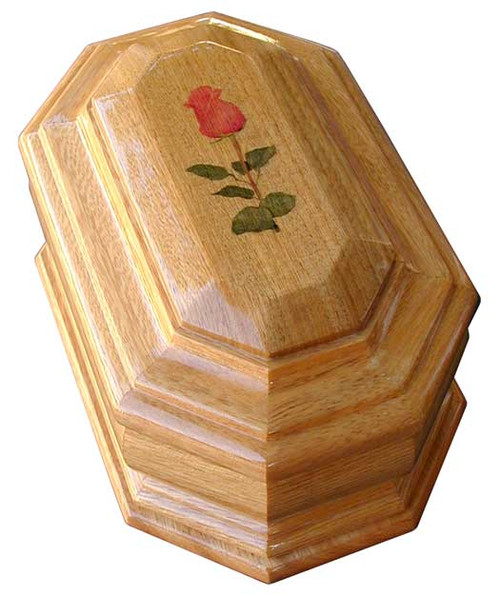 Rose Cremation Urn | Rose Urn in Radiata