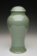 Green Tea Ceramic Urn | Funeral Urns for Ashes