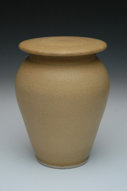 Pale Apple Handmade Ceramic Urn