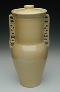 Greek Pithos Cremation Urn in Pale Apple | Grecian Urns