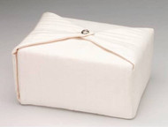 Silk Fabric Cremation Urn in Cream | Silk Urns