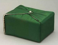Silk Fabric Cremation Urn in Hunter Green | Silk Urns