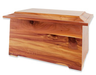 Cedar Wood Cremation Urn - Sonata