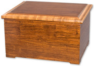 Bamboo Urn with Memory Chest Combo