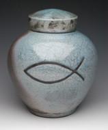 Christian Symbol Cremation Urn