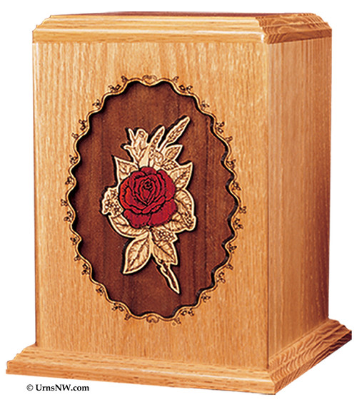 Rose Cremation Urn for Ashes
