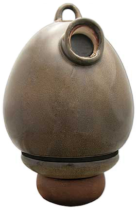 Birdhouse Urn in Granite