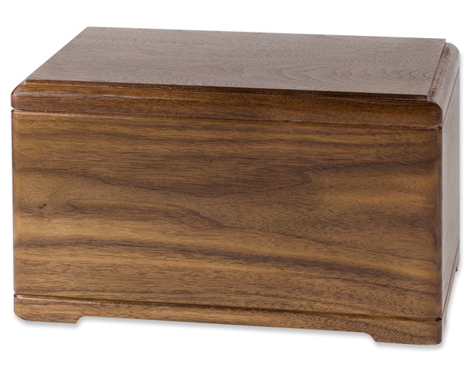 Hamilton Solid Wood Cremation Urn Made In The Usa