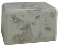 Cultured Marble Urn - Silver Lining