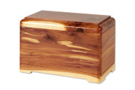 Cedar Wood Pet Cremation Urn