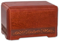 Cherry Wood Pet Urn