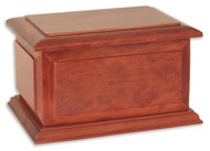 Boston II Pet Urn | Cherry Wood
